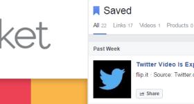 Saved to Facebook vs Pocket