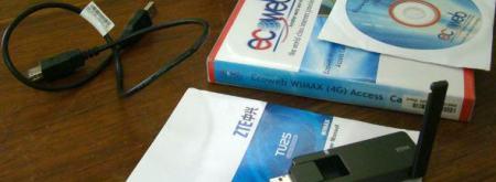 Ecoweb Mobile Wimax Kit