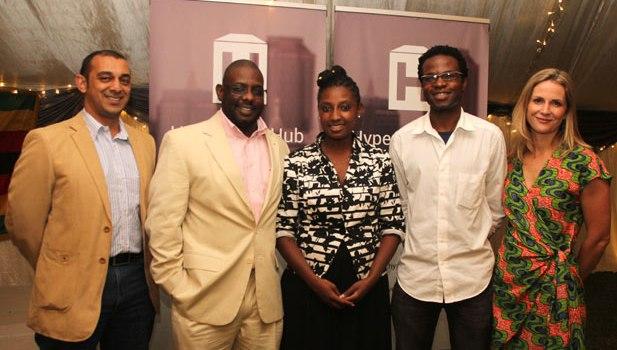 The Hypercube team. Image credit: itamari.com