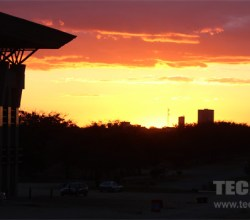 Sunset on NUST Bulawayo