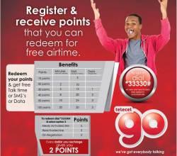 Telecel Zimbabwe Bonus Points