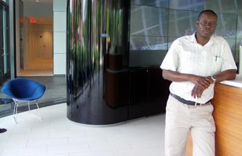 Co-Founder of Pazimba, Taurai Chinymakobvu