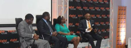 The panel that discussed the challenges being faced in Zimbabwe's digital space