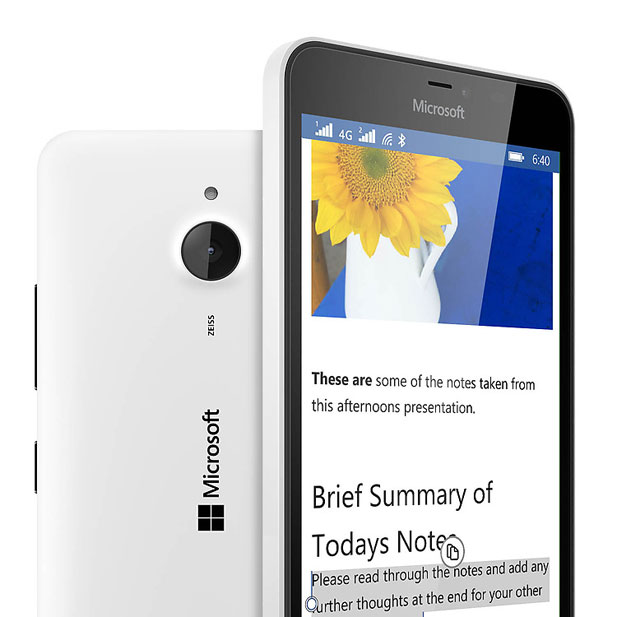 The Nokia Lumia 640 XL