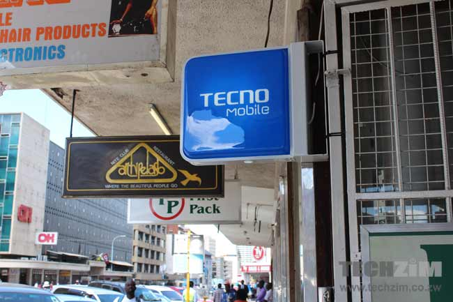Tecno Mobile, Zimbabwean Smartphones, Android Devices,