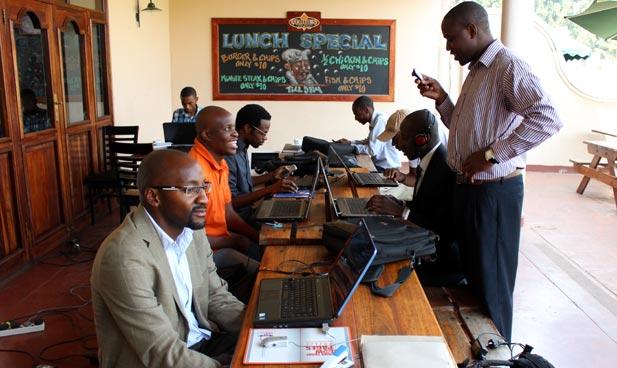 Zimbabwean Developers at a meetup