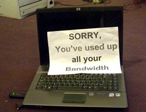 Saving bandwidth