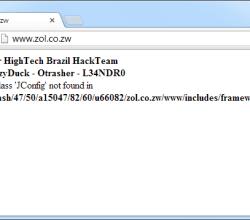 Zimbabwe Online (ZOL) website Hacked