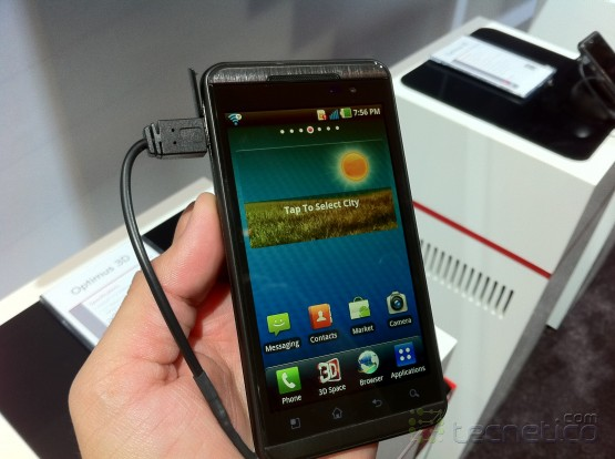 LG Thrill 4G (Optimus 3D en Europa)
