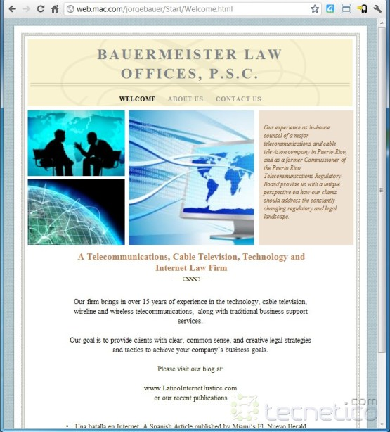 Bauermeister-website-screenshot