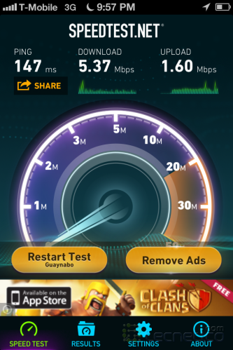 iPhone Speedtest 6