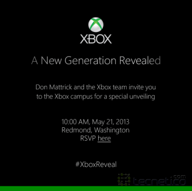 Microsoft-Xbox-Reveal-Invite