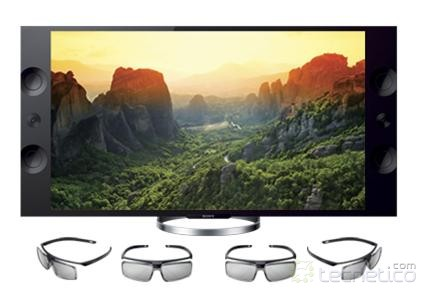 Televisor Sony &quot;Ultra High Definition 4K&quot; de 55 pulgadas. (Foto: Sony)