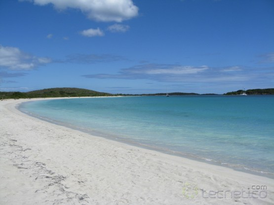 Playa en Vieques - Flickr/Andrew Whitaker