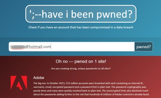 Have I been pwned-1