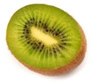 Partes del fruto - Kiwi