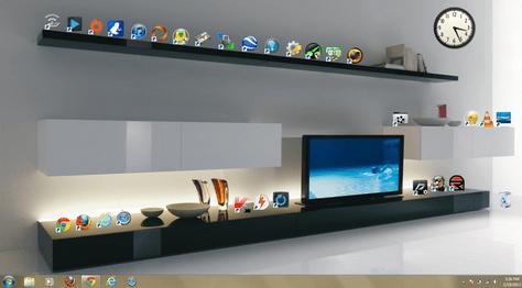 Faça backup da posição dos ícones do seu desktop