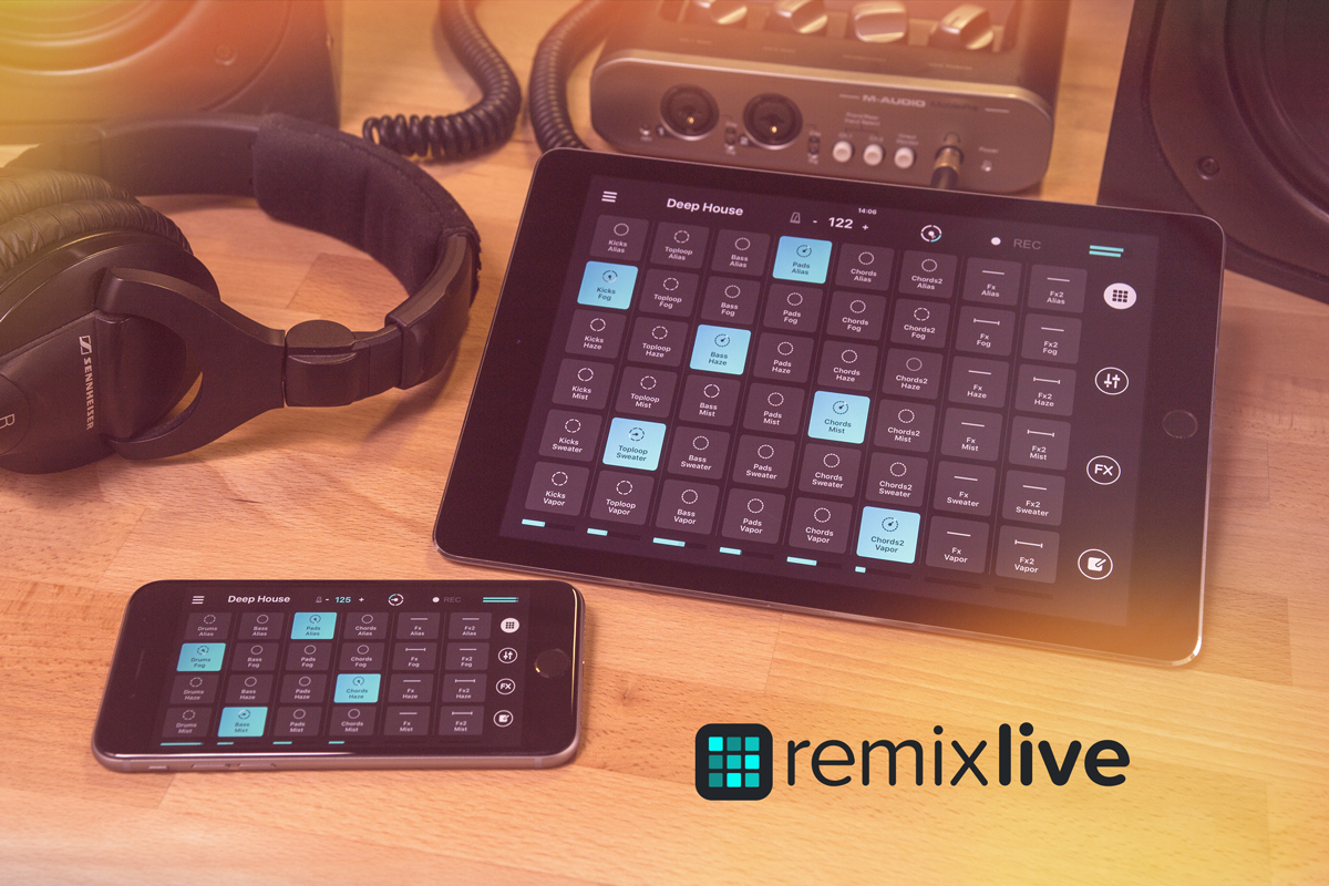 Remixlive, nueva app para iOS de Mixvibes