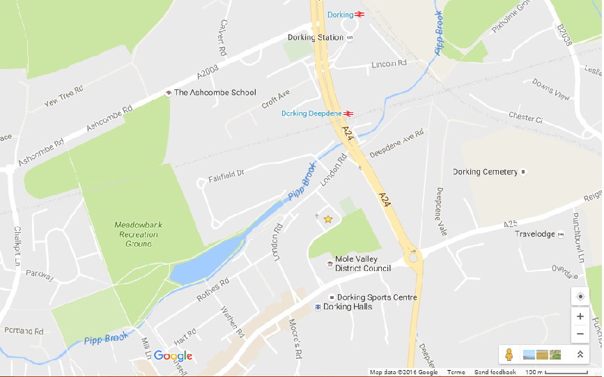 tedxdorking-map