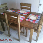 How To Build An Affordable Rustic Wooden Dining Table