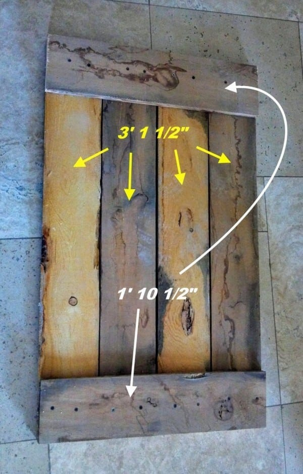 Diy rustic pallet wood storage chest teediddlydee sides publicscrutiny Gallery