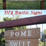 Super Cute DIY Old Pallet Wood Signs