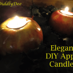Make simple, elegant apple candles for the holidays