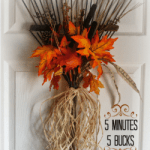 Rake Wreath Fall Decor