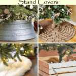 7 Clever DIY Christmas Tree Stand Covers