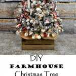 DIY Farmhouse Christmas Tree