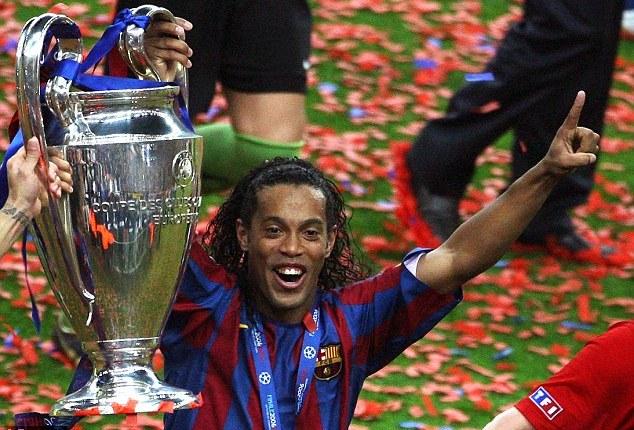 Ronaldinho Champions League