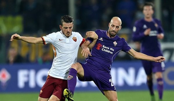 Fiorentina cae ante la Roma