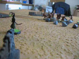 Pendragon rückt vor und schießt