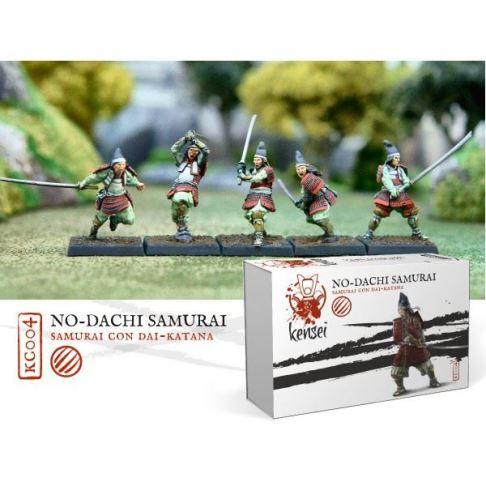 Samurai mit No-Dachi