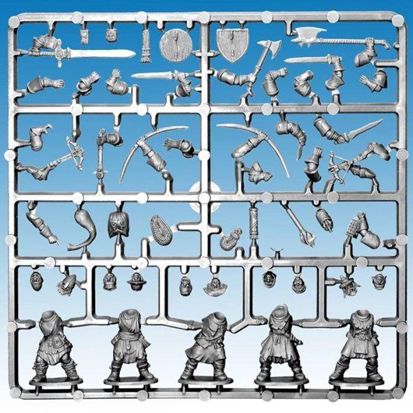...und wird größenmäßig kompatibel sein mit den Miniaturen von Fireforge.