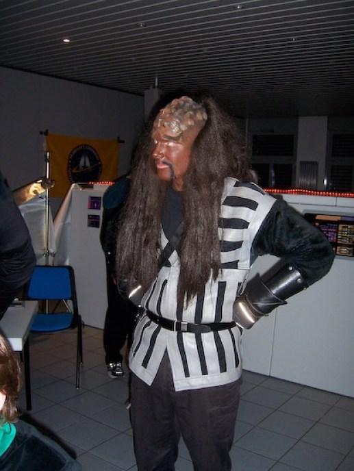 Fester Bestandteil von Star Trek: Klingonen