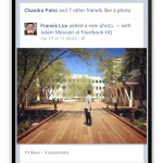 Facebook Time Line Android