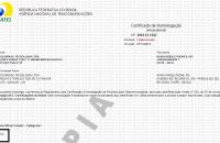 Certificado de homologação do Lumia 920
