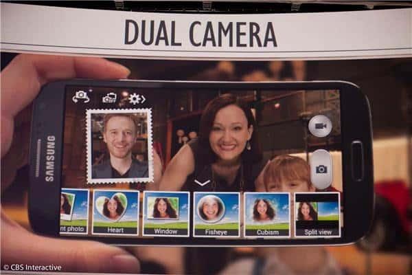 Recurso dual-camera