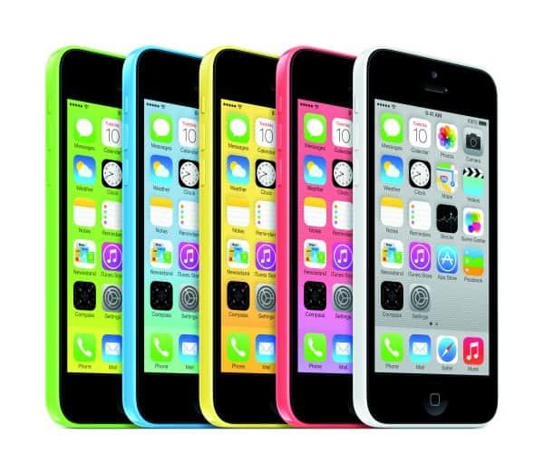 Um arco iris de Lum.. ops, arco iris de iPhones