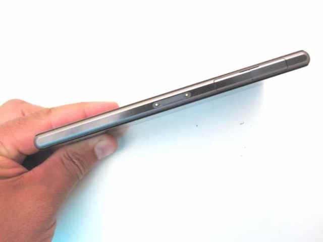 review xperia z1 - lateral