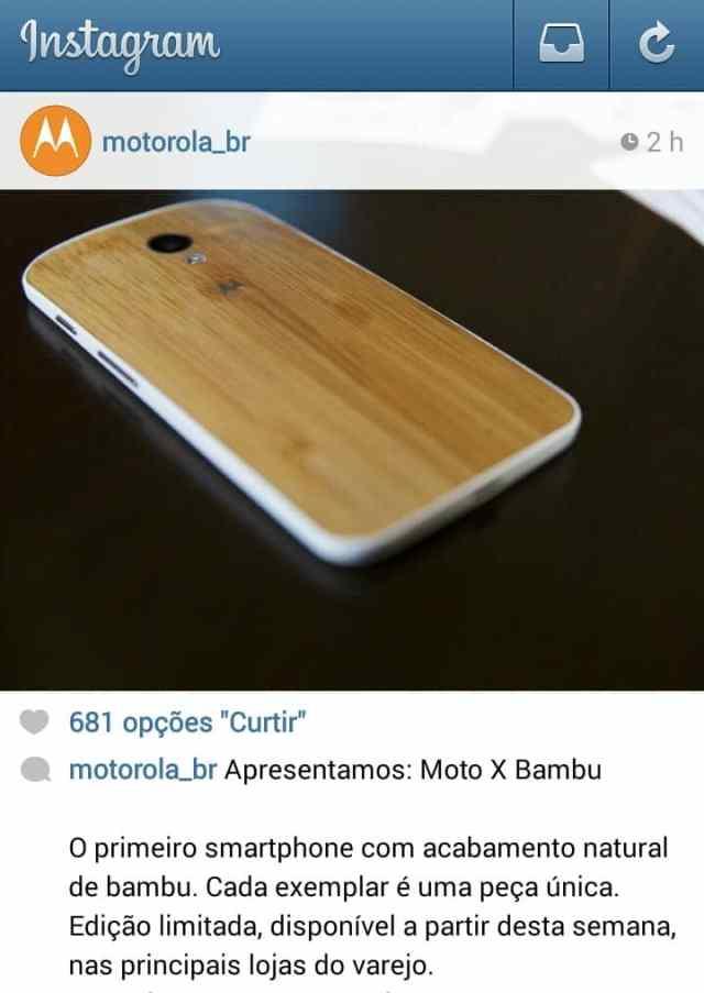 Anúncio da Motorola