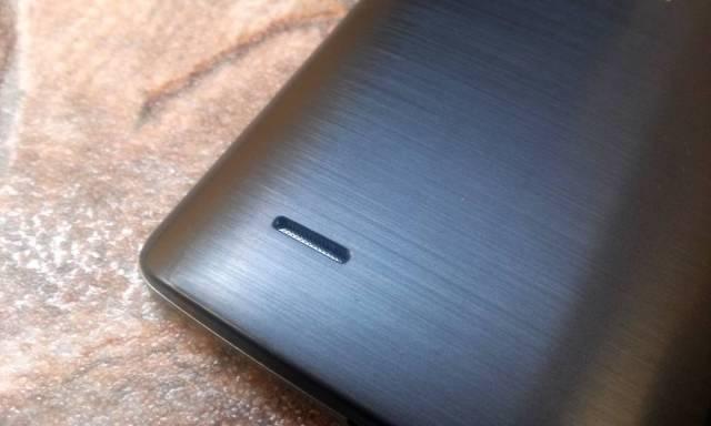 review LG G3 - alto falante