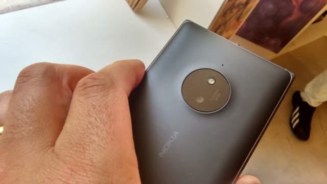 Lumia 830 camera