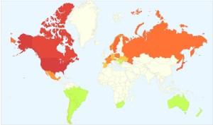 Mapa de gripe