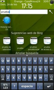 BlackBerry Torch 9860 - Teclado