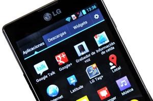 LG Optimus L9 - pantalla