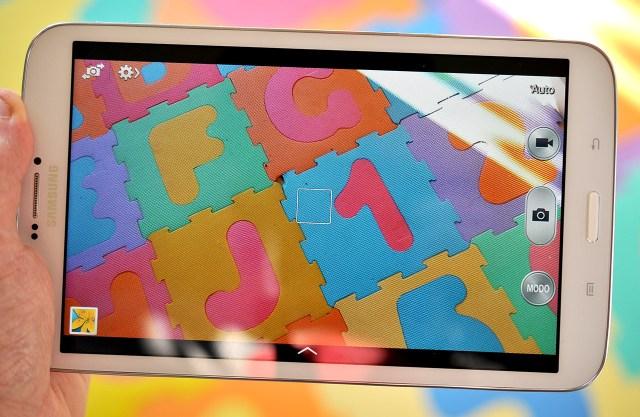 Samsung Galaxy Tab 3 8.0 - camara