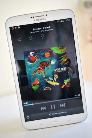 Samsung Galaxy Tab 3 8.0 - musica