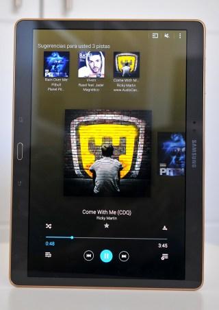 Samsung Galaxy Tab S - Musica